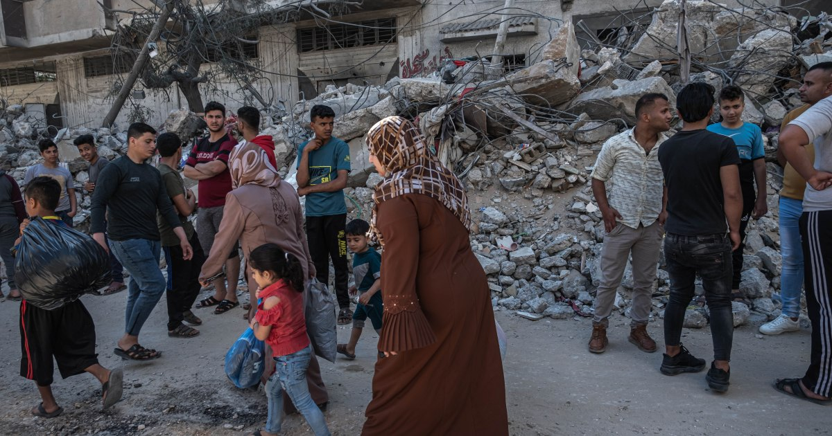 """التطورات في فلسطين.. بايدن يتصل بنتنياهو وعباس ووزير الخارجية القطري يجتمع مع هنية وأوروبا تدعو لإيقاف فوري """"للعنف"""""""