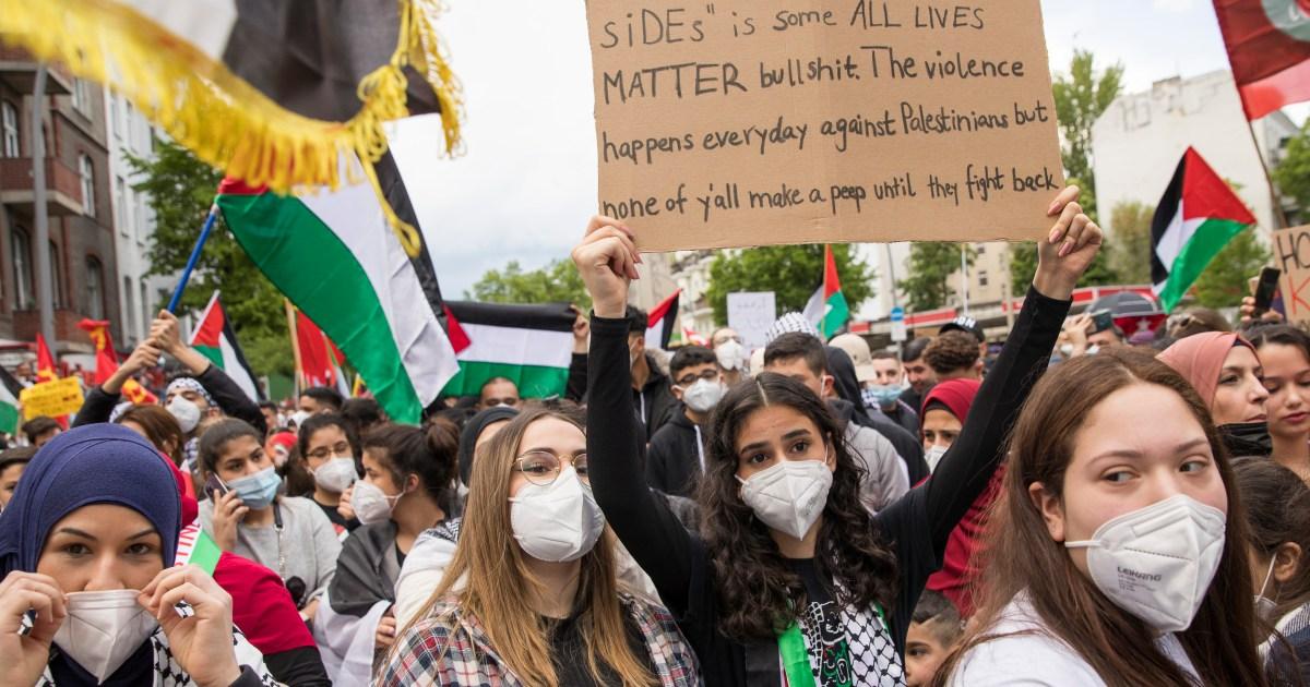 لليوم الرابع.. استمرار الاحتجاجات العالمية المنددة بالعدوان الإسرائيلي على الفلسطينيين