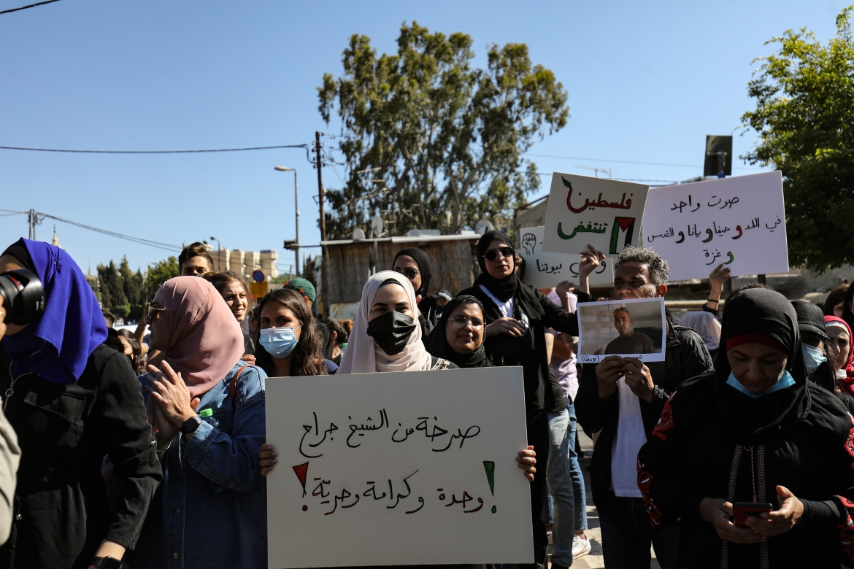 فلسطين تتنفس والوعي يتجدد (الأناضول)