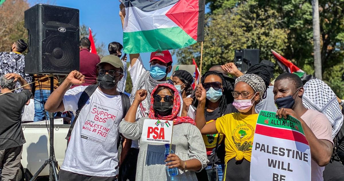 موقف رسمي خجول.. مظاهرات بجنوب أفريقيا ضد القصف الإسرائيلي على غزة والقمع في القدس