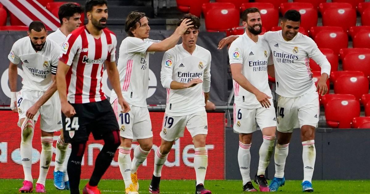 بالفيديو.. أتلتيكو يقترب من لقب الليغا وريال مدريد يتمسك بالأمل وبرشلونة يخسر بملعبه