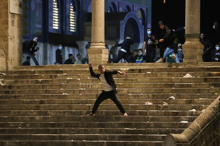 أحداث الأقصى تقضي على آمال بايدن بتجاهل الملف الفلسطيني الإسرائيلي | أخبار  | الجزيرة نت