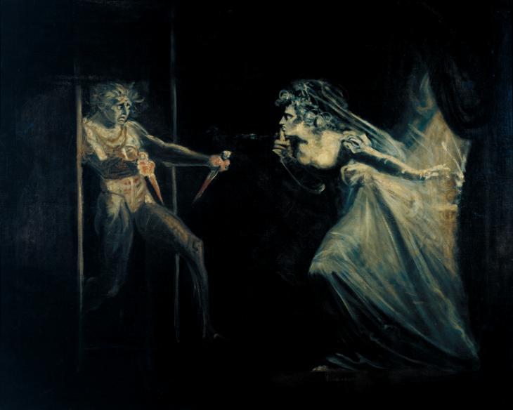 Henry Fuseli من هو هنري فوسيلي أعمال فوسيلي Lady Macbeth Seizing the Daggers