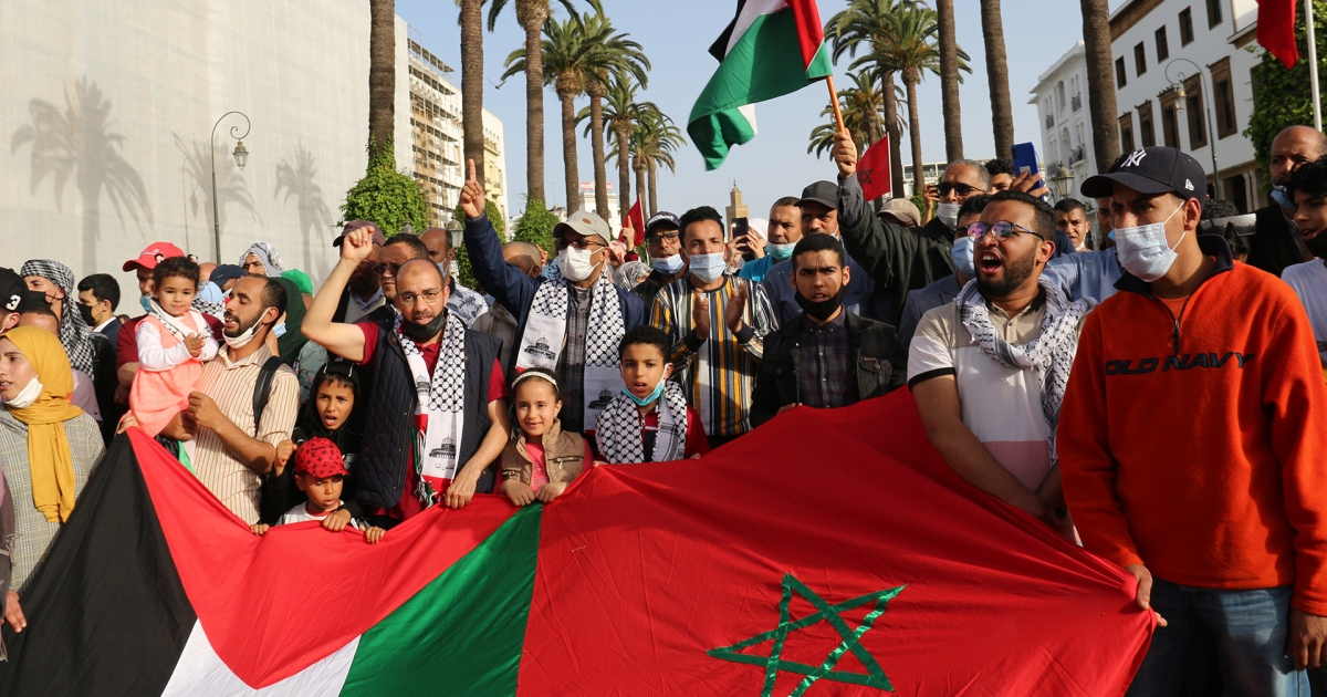 مغاربة: عيدنا في بلدنا وقلوبنا مع القدس وغزة