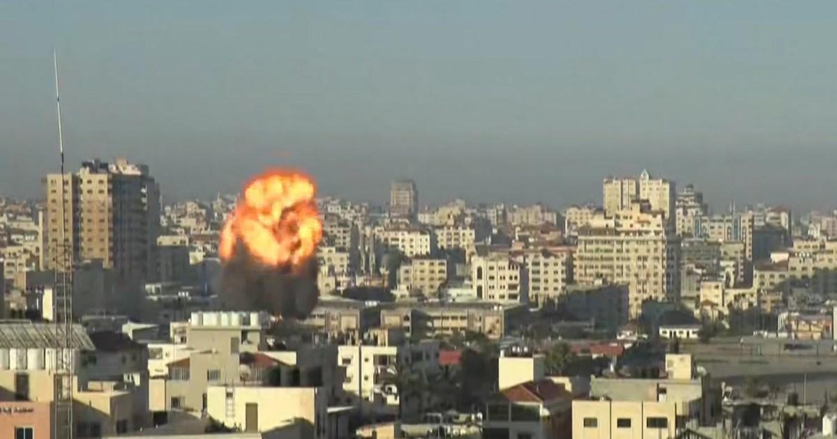 """""""عقاب جماعي"""" في غارات إسرائيلية مكثفة على غزة وأكثر من 200 شهيد منذ بدء العدوان"""