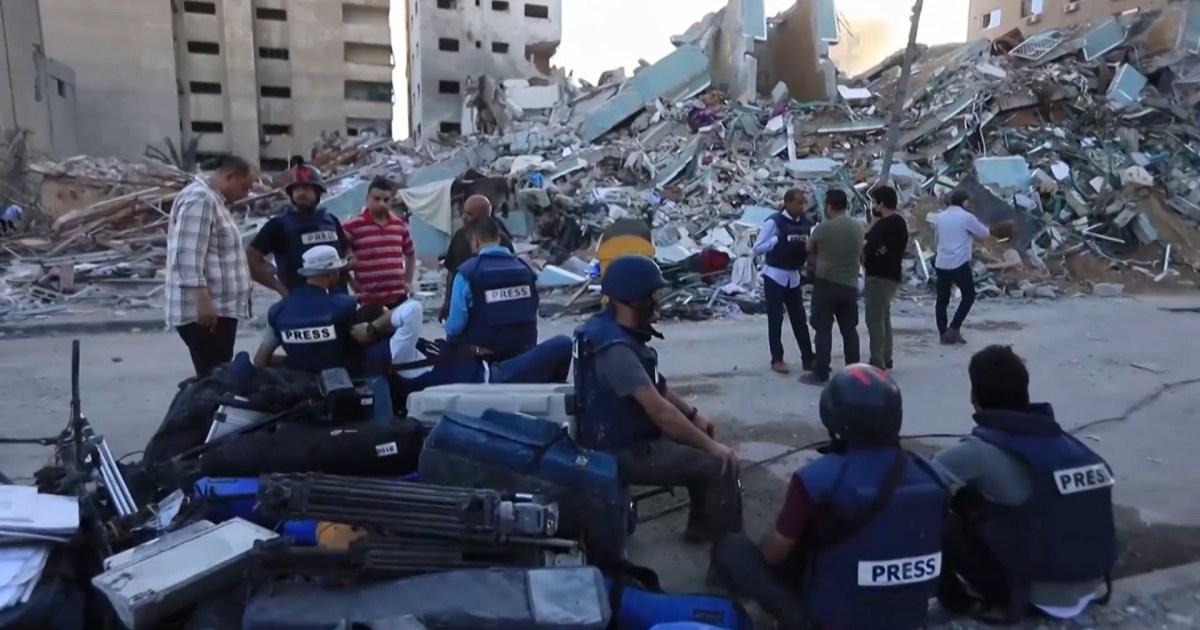 هيئات دولية تشجب استهداف المنشآت المدنية والإعلامية بغزة