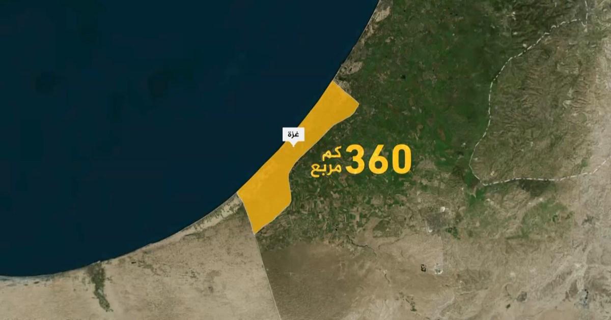 معلومات تفصيلية هامة عن قطاع غزة
