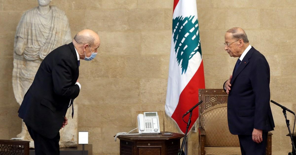 الرئيس عون يؤكد أن الأولوية في لبنان هي لتشكيل الحكومة ووزير خارجية فرنسا يتوعد المعرقلين
