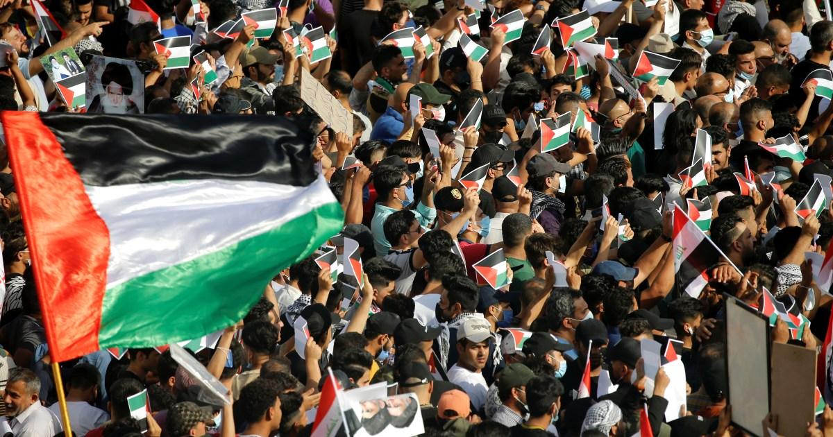 شعوب العالم تتضامن مع فلسطين وتندد بعدوانية إسرائيل
