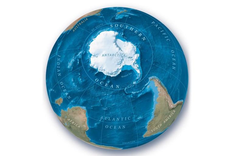 المحيط الخامس لوبوان خريطة العالم أين يقع المحيط الخامس