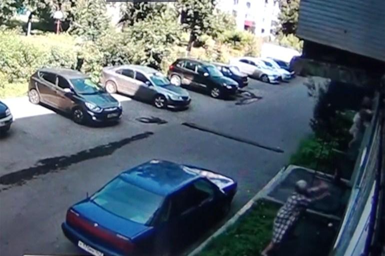 وقعت الحادثة بمدينة نوفوكوزنتسك جنوب روسيا (مواقع التواصل)