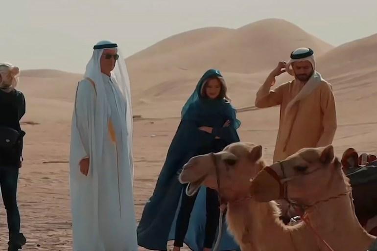 """تحقيق """"ما خفي أعظم"""" تمكّن من إجراء لقاءات حصرية مع مشاركين في الفيلم (مواقع التواصل الاجتماعي)"""