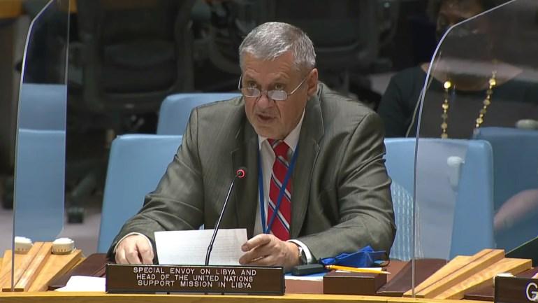 المبعوث الأممي الخاص إلى ليبيا يان كوبيش