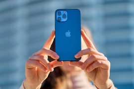 Apple iPhone 12 pacific blue color