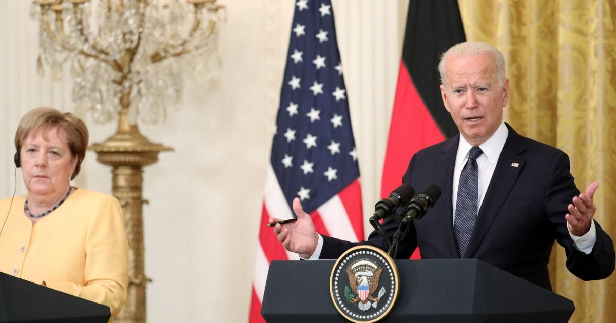 روسيا محور الخلاف.. بايدن وميركل يعملان على إصلاح العلاقات الثنائية بعد توترها في عهد ترامب