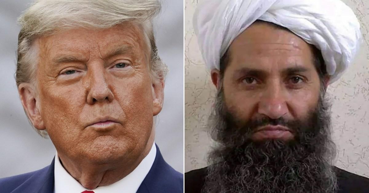 """نسي اسم زعيم طالبان.. ترامب: لنطلق عليه اسم """"محمد"""""""