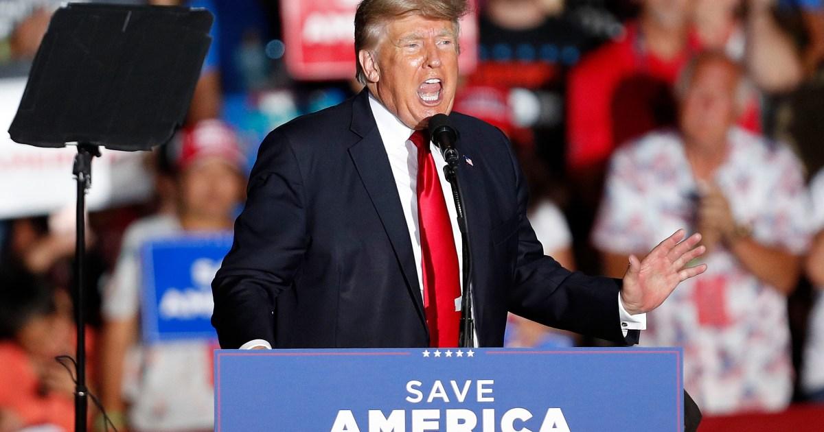 منظمة ترامب تعتبر اتهامها سياسيا ويهدف للإضرار بالرئيس السابق