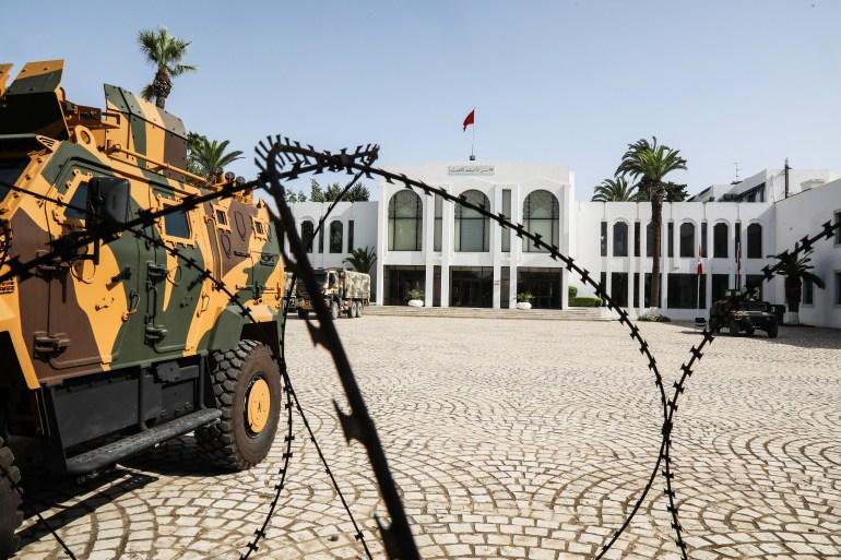 البرلمان التونسي مغلق منذ إعلان الرئيس سعيّد في 25 يوليو/تموز عن إجراءات استثنائية (الأوروبية)