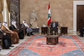 لبنان.. الدوحة تتدخل لحل الأزمة وعون يرحب بالدعم القطري