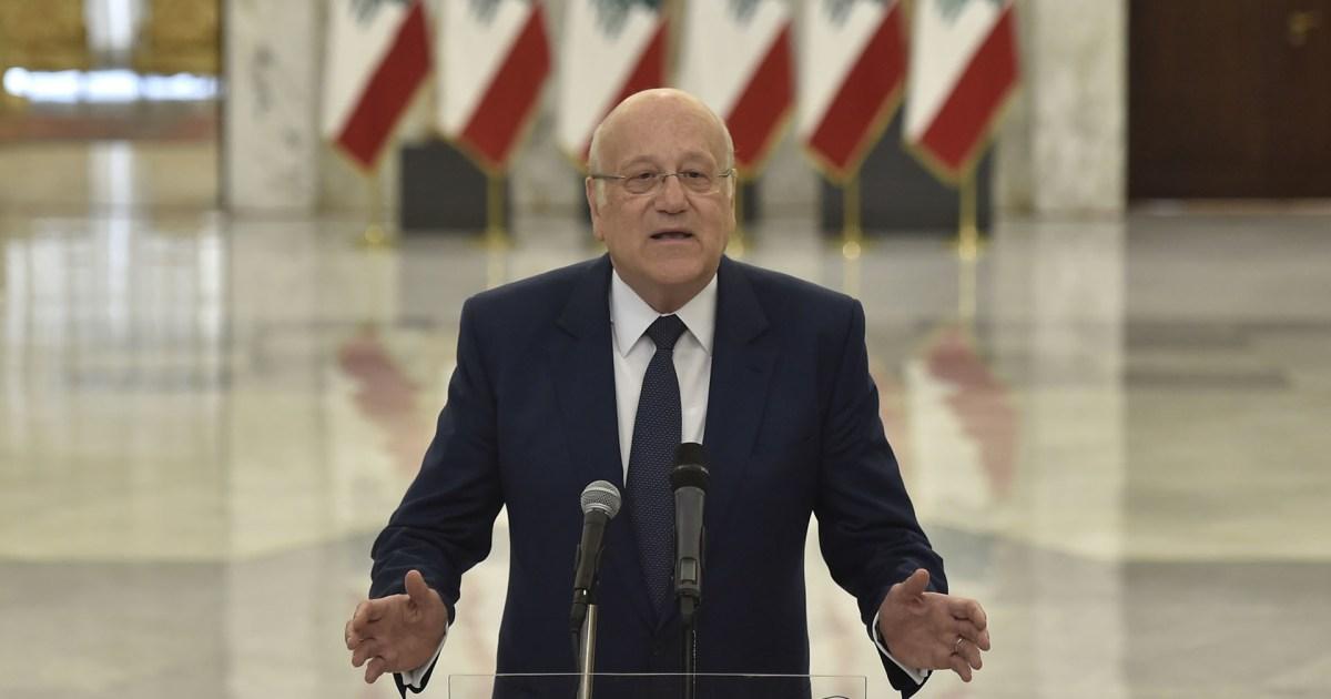 لبنان.. تكليف ميقاتي بمهمة تشكيل الحكومة الجديدة
