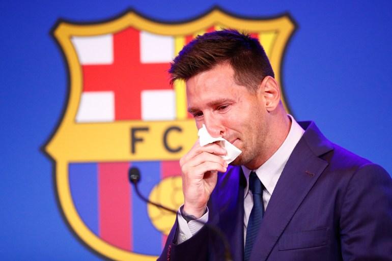 ميسي يرد على لابورتا بكشف سر رحيله عن برشلونة ويقيّم انتقاله إلى سان جيرمان 1332997433
