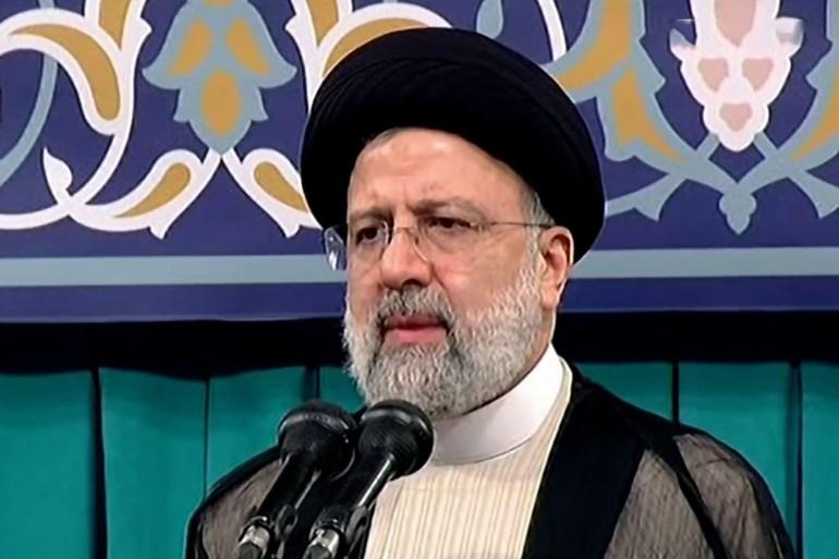 رئيسي استقبل المتحدث باسم جماعة الحوثي في طهران (الجزيرة)