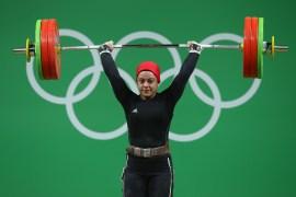 سارة سمير سبق لها التتويج بميدالية برونزية في منافسات أولمبياد 2016 (غيتي)