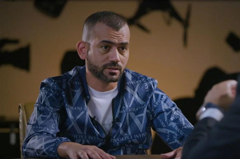 المنتج رامي جابر ظهر في برنامج ما خفي أعظم الأحد الماضي (الجزيرة)