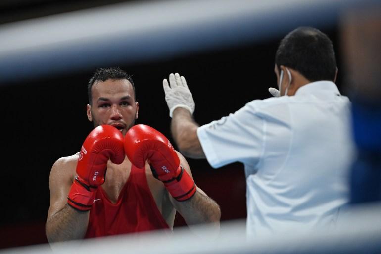 أخفق الرياضيون المغربيون في الفوز بأي ميدالية في منافسة الملاكمة (رويترز)