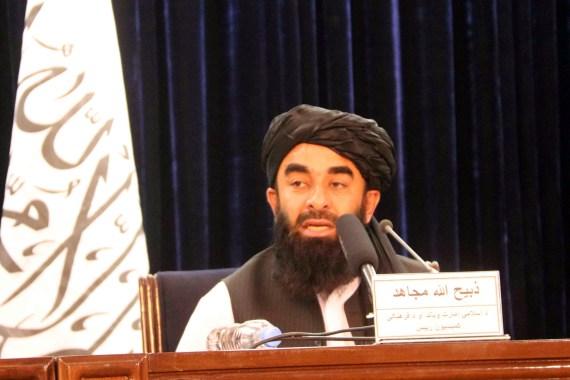 """أفغانستان.. موسكو: علينا إقامة علاقات مع الحكومة الجديدة وفرنسا وبريطانيا تقترحان إنشاء """"منطقة آمنة"""" في كابل أفغانستان.. موسك H_57131427"""