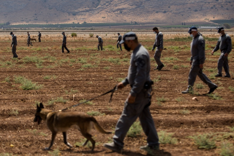 Manhunt For Six Palestinians Who Escaped Israeli Prison