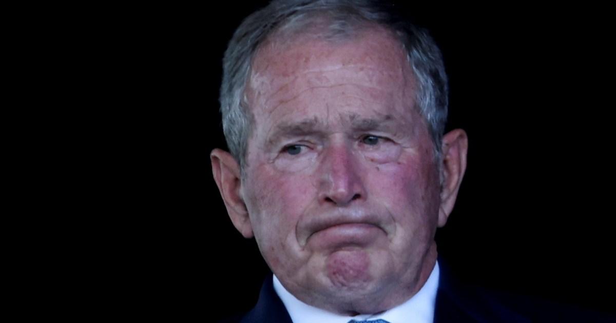 شاهد.. جندي يطالب الرئيس الأميركي الأسبق جورج بوش بالاعتذار عن قتل العراقيين