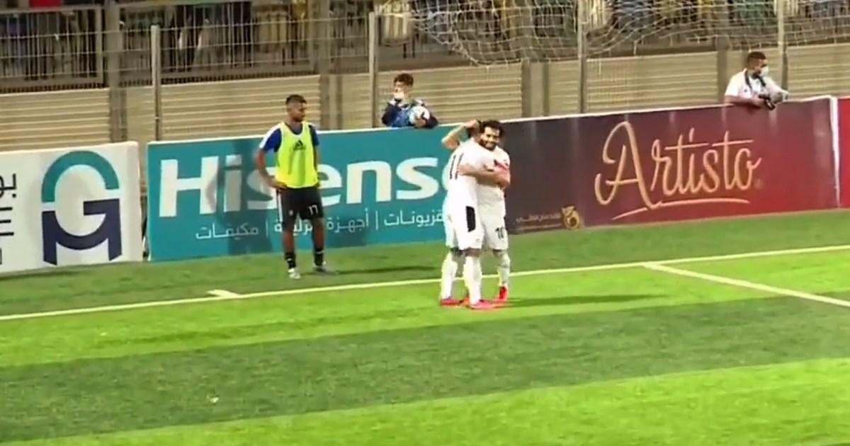 مصر تهزم ليبيا في تصفيات أفريقيا المؤهلة لمونديال قطر 2022