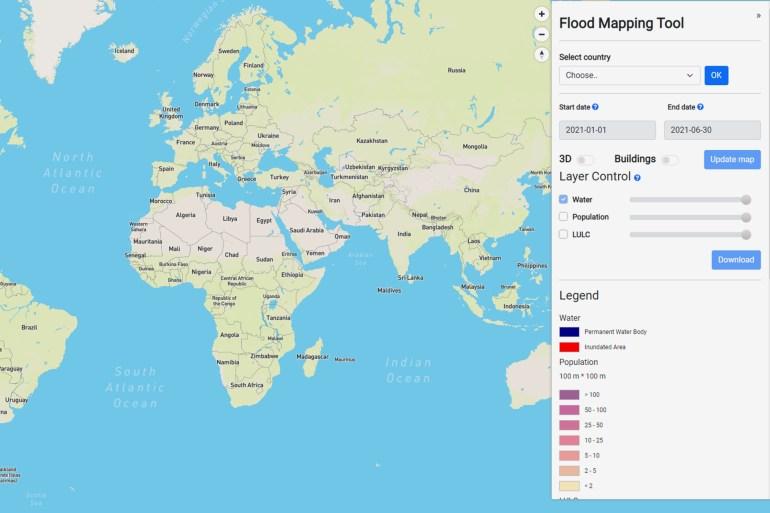للاستخدام الداخلي فقط - صورة صفحة آلية رسم الخرائط - للأمم المتحدة