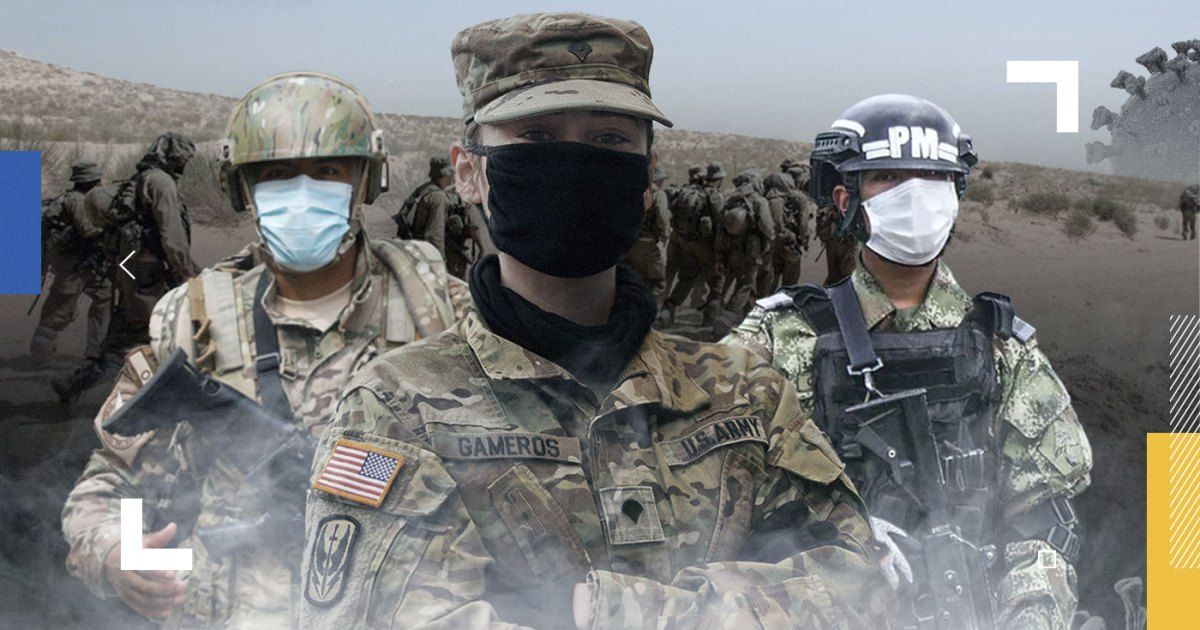 خطر حقيقي وقريب للغاية.. كيف اخترق فيروس كورونا حصون الجيوش العالمية؟
